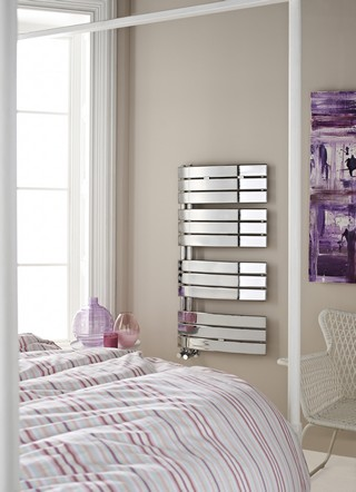 Hudson Reed Elgin Chrome Designer Towel Radiator | HL336
