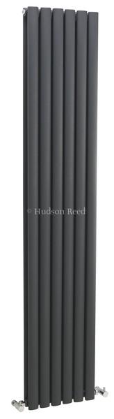 Revive Vertical Designer Anthracite Double Panel Radiator | HLA77