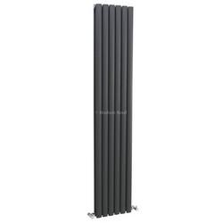 Revive Vertical Designer Anthracite Double Panel Radiator | HLA77