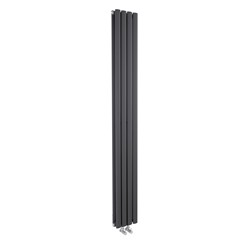 Hudson Reed Compact Revive Double Compact Anthracite Designer Radiator | HRE009